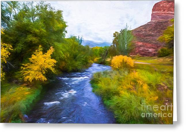 Colorado Dreaming Greeting Card by Jon Burch Photography