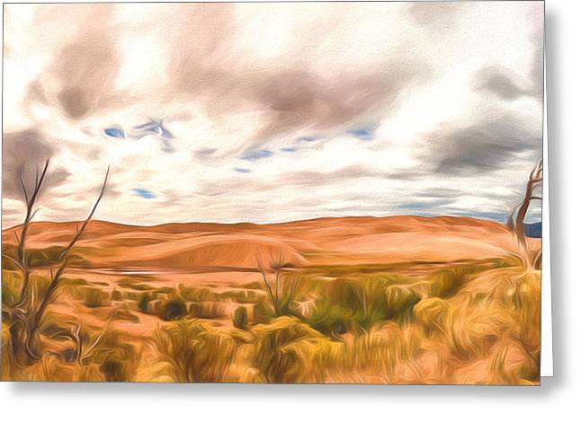 Colorado Dunes Greeting Card