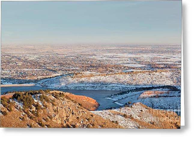 Colorado Front Range And Plains Greeting Card