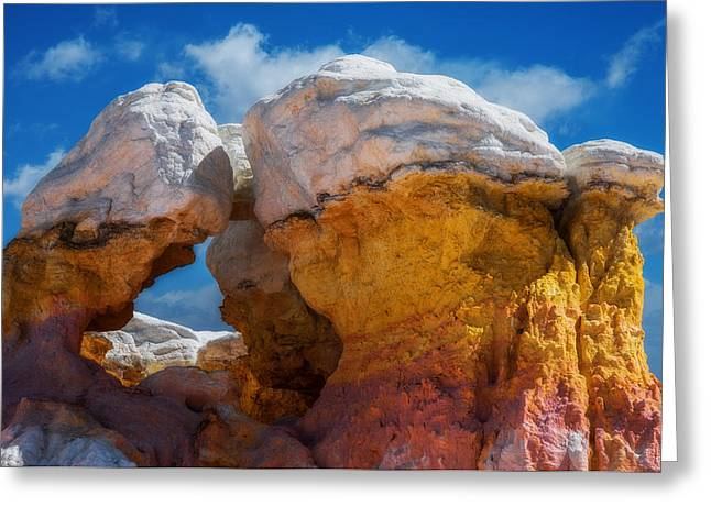 Colorado Gold Mine Greeting Card by Darren  White