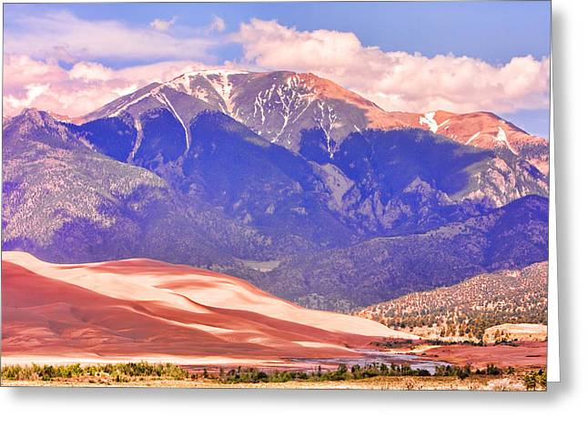 Colorado Great Sand Dunes National Park  Greeting Card by James BO  Insogna