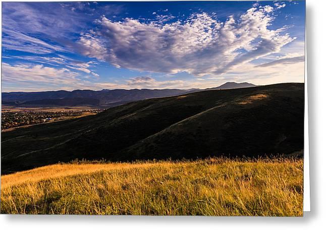 Colorado Landscape Greeting Card by Jonathan Gewirtz