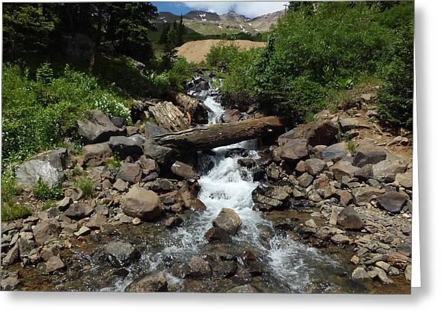 Colorado Mountain 3 Greeting Card