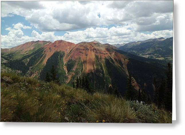Colorado Mountain 4 Greeting Card