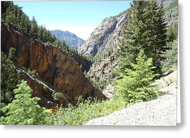 Colorado Mountain 9 Greeting Card