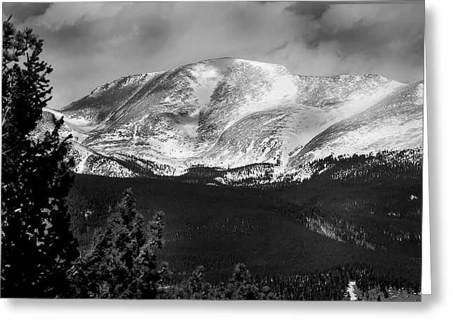 Colorado Mountains Greeting Card