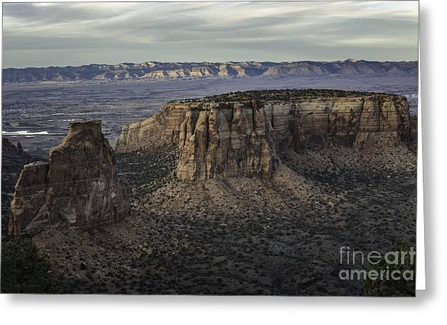 Colorado National Monument 2 Greeting Card