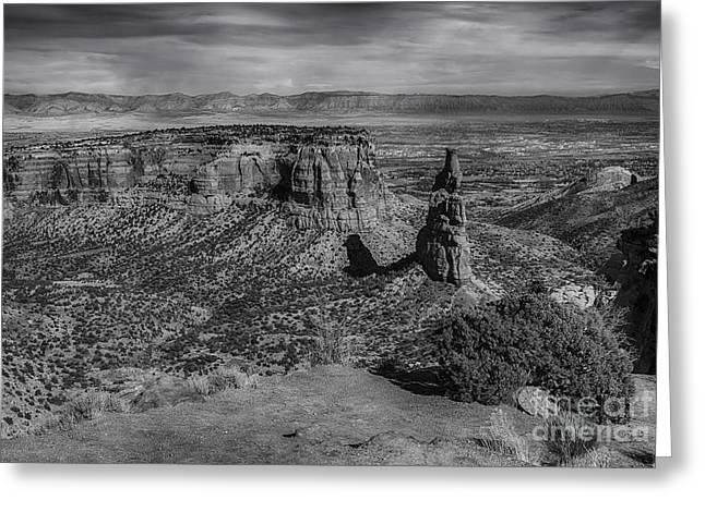 Colorado National Monument Greeting Card