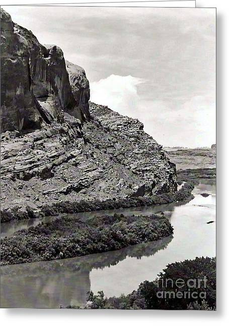 Greeting Card featuring the photograph Colorado River by Juls Adams