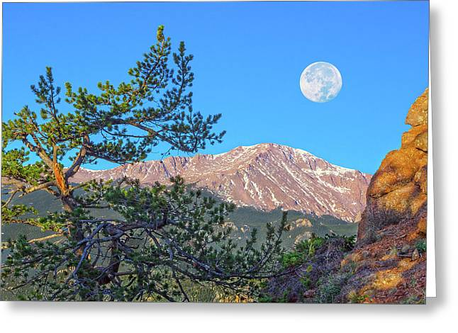 Colorado Rocky Mountain High, Just A Breath Away From Heaven Greeting Card