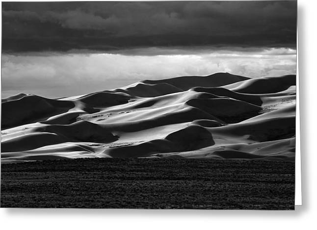 Colorado Sand Dunes Greeting Card by Mark Courage