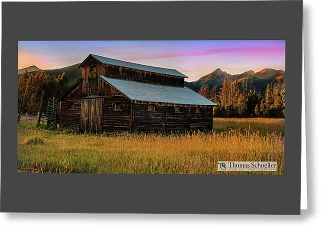 Colorado Scenic Landscapes - Thomasschoeller.photography Greeting Card by Thomas Schoeller