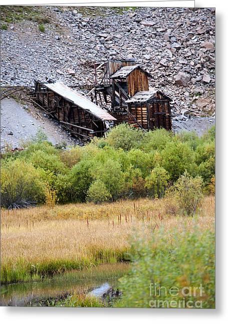 Colorado Silver Mine  Greeting Card