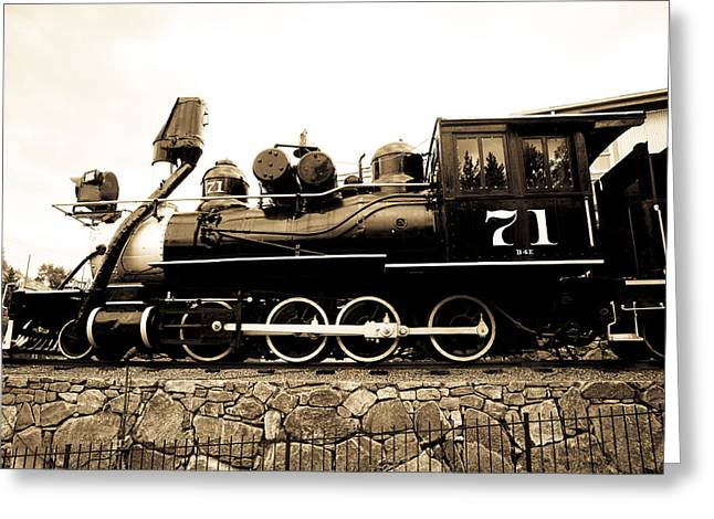 Central Greeting Cards - Colorado Southern Railroad 2 Greeting Card by Marilyn Hunt