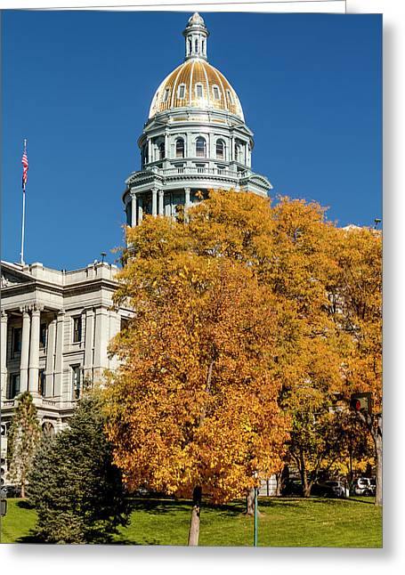 Colorado State Capitol Building Greeting Card