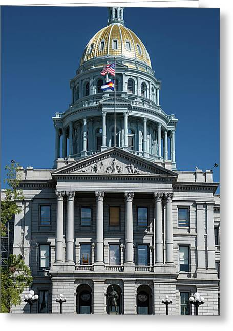 Colorado State Capitol Greeting Card