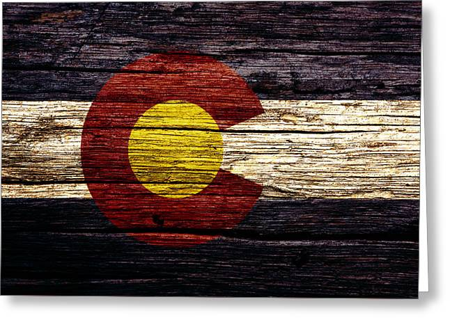 Colorado State Flag 3w Greeting Card