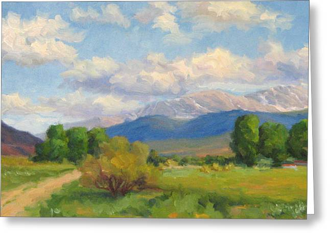 Colorado Summer Greeting Card by Bunny Oliver