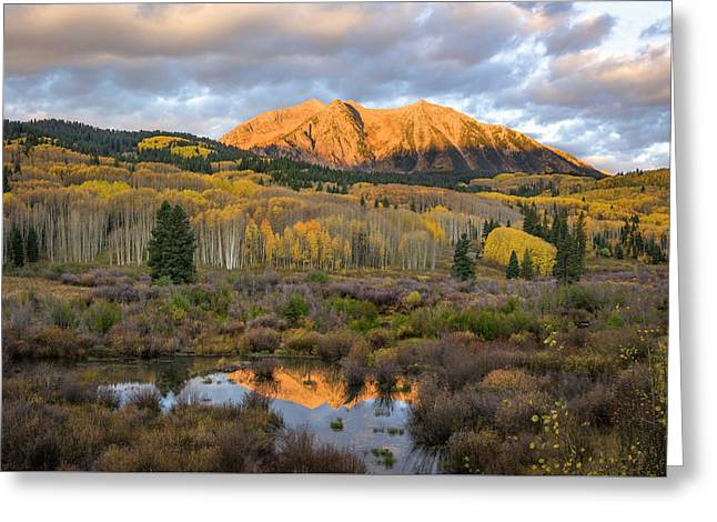 Colorado Sunrise Greeting Card