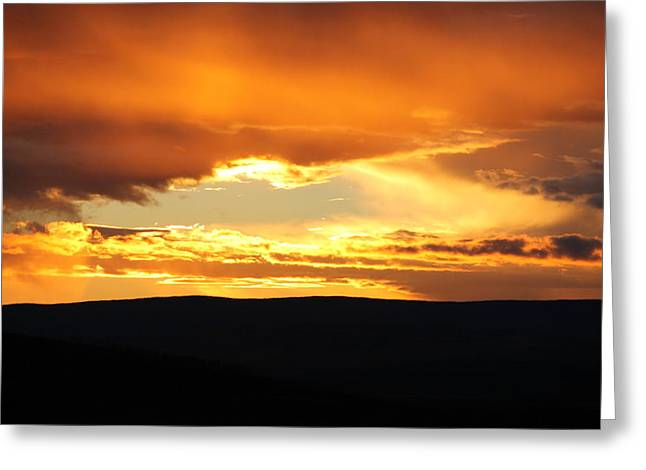 Colorado Sunset Greeting Card by Bruce Wayne