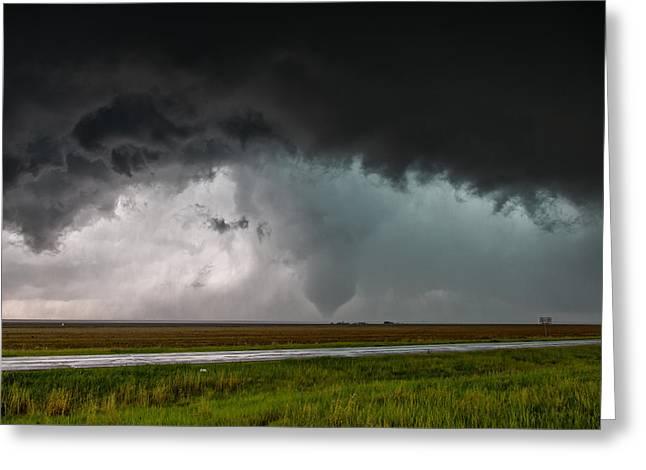 Colorado Tornado Greeting Card
