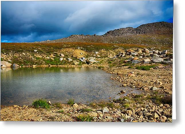 Colorado Tundra Greeting Card