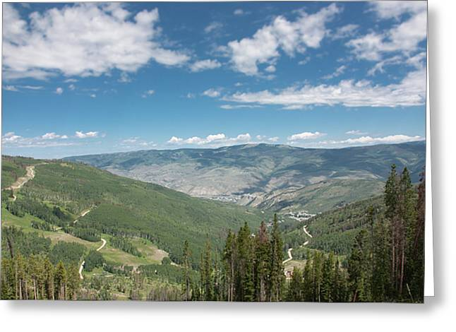 Colorado Vista From Trail To Beaver Lake Greeting Card