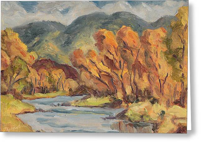 Colorado Yampa Valley Fall Steamboat Springs Greeting Card