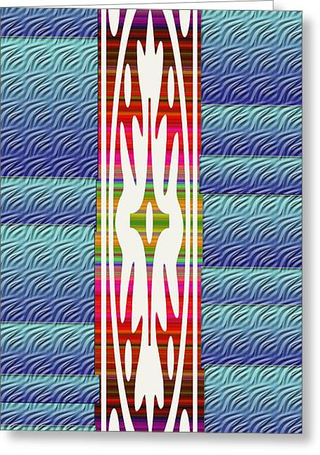 Colorful Abstract 13 Greeting Card by Aimee L Maher Photography and Art Visit ALMGallerydotcom