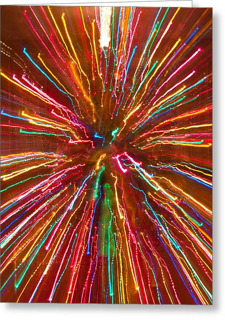 Colorful Abstract Photography Greeting Card by James BO  Insogna