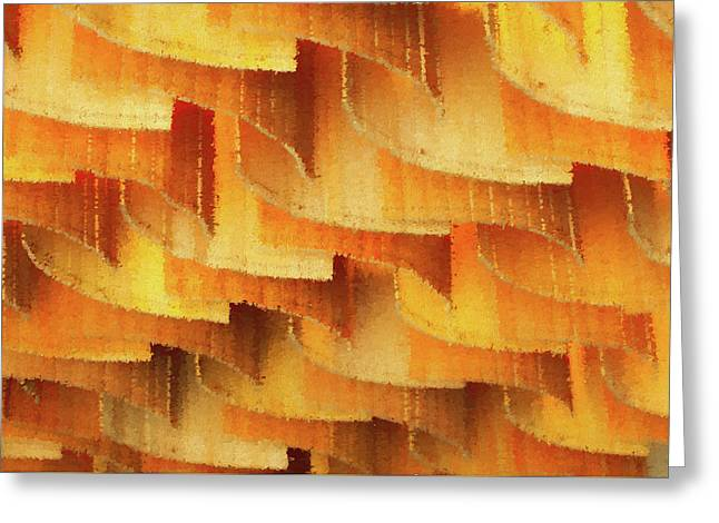 Colorful Bamboo Ceiling- China Greeting Card