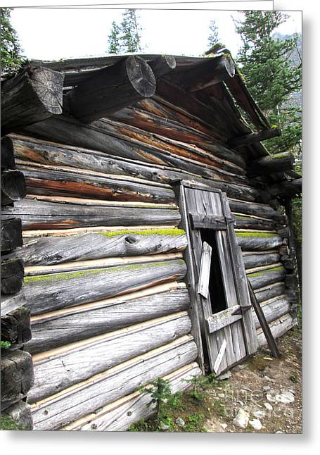 Colorful Cabin  Greeting Card
