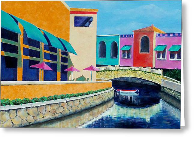 Colorful Cancun Greeting Card
