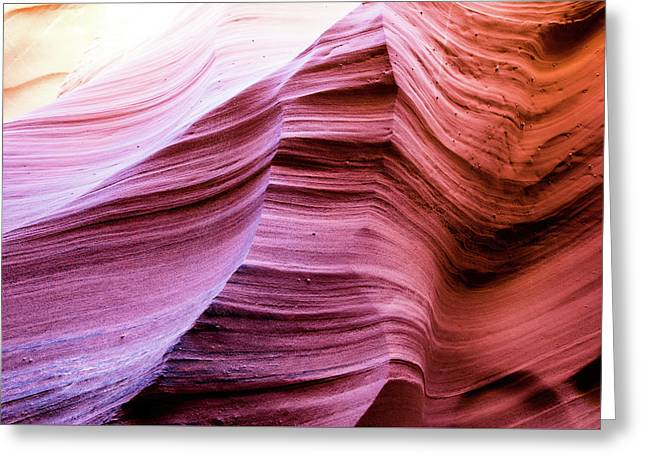 Greeting Card featuring the photograph Colorful Canyon by Stephen Holst