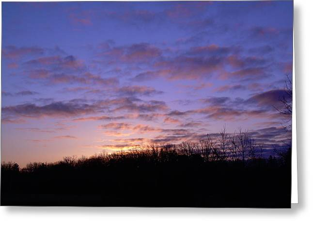 Colorful Clouds In The Sky Greeting Card by Kent Lorentzen