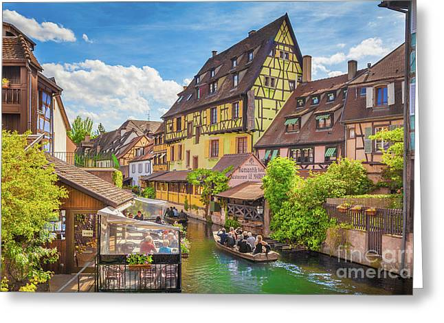 Colorful Colmar Greeting Card
