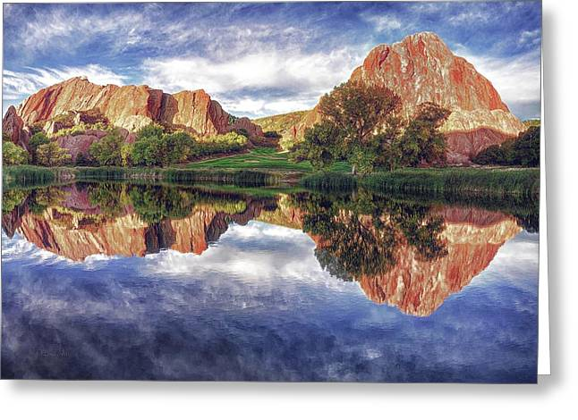 Colorful Colorado Greeting Card