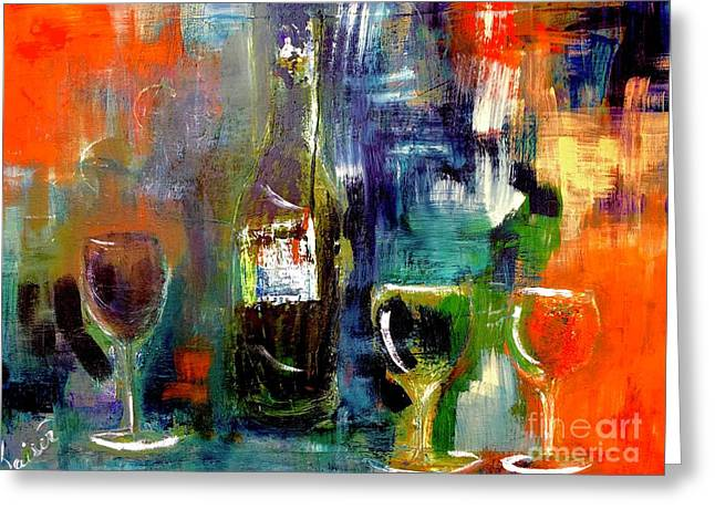 Colorful Escapism  Greeting Card