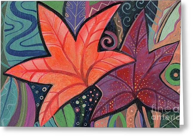 Colorful Fall Greeting Card