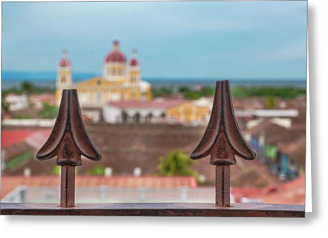 Colorful Granada II Greeting Card by Michael Santos