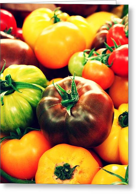 Colorful Harvest Greeting Card