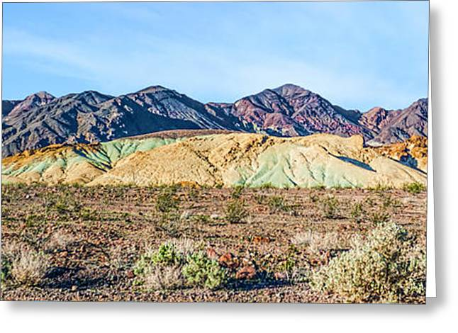 Colorful Hills Greeting Card