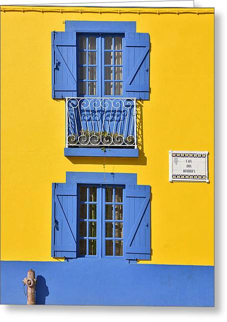 Colorful House Greeting Card