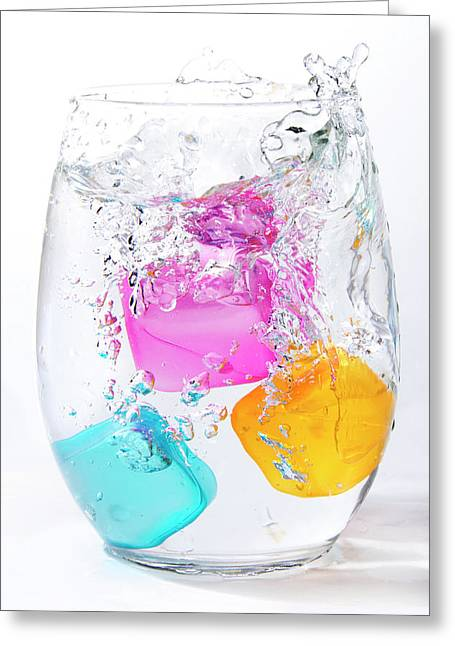 Colorful Ice Greeting Card