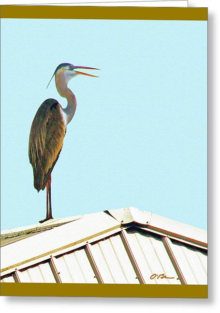 Colorful Lookout Book Cover Greeting Card
