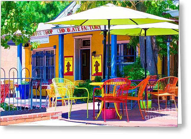 Colorful Old Town 2 Greeting Card