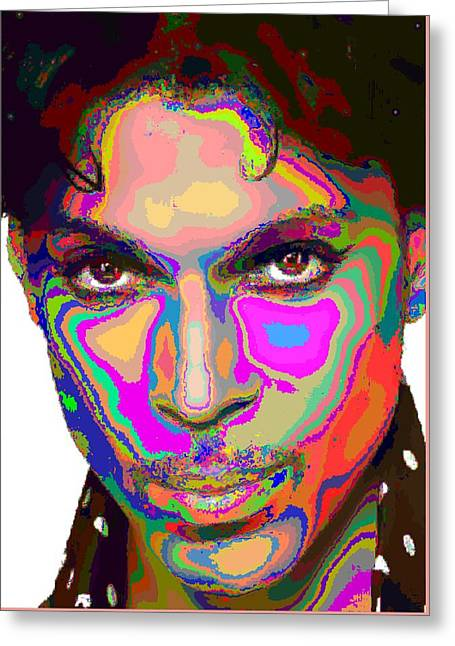 Colorful Prince Greeting Card