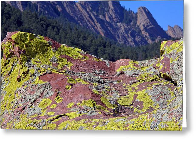 Colorful Rock Mesatrail Greeting Card