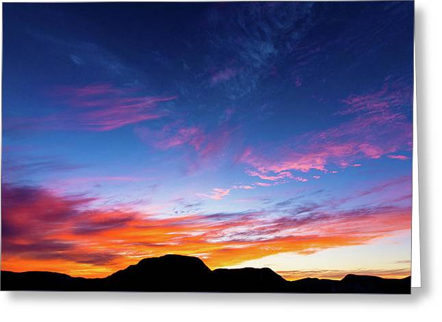 Colorful Sky - La Chouenne 1 Greeting Card by Andy Fung