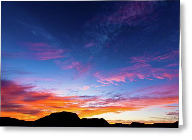 Colorful Sky - La Chouenne 2 Greeting Card by Andy Fung